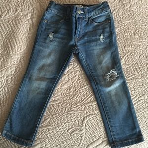 Two jeans toddler
